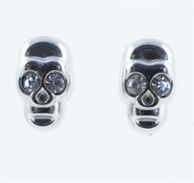 Chandrika Pearls Fusion Metal Stud Earring