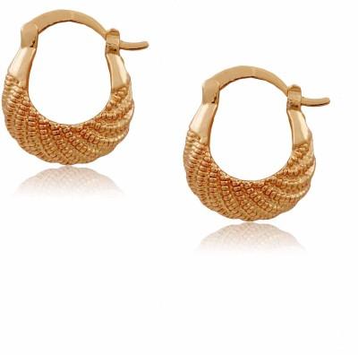 Jewbang Ethnic Style Alloy Hoop Earring