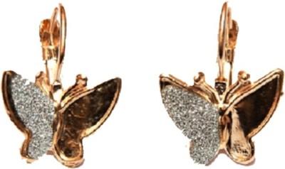 Jodhpuriyas BEAUTIFUL BUTTERFLY HUGGIE EARRING Alloy Huggie Earring