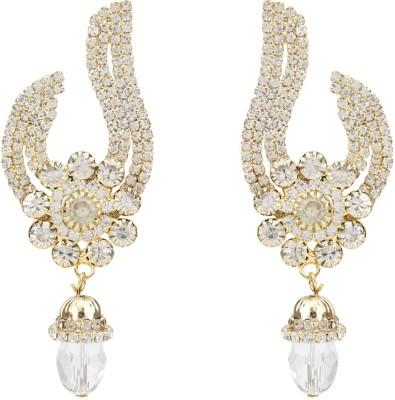 EB spark Diamond Brass Hoop Earring