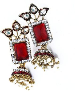 Artisan Saga Fancy Jhumki Copper Drop Earring