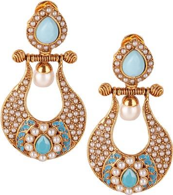 Varaagk Brass Dangle Earring