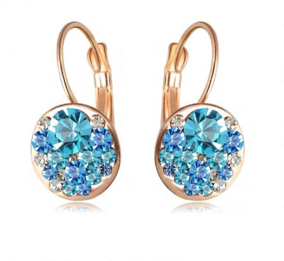 Yiwu Sparkle Crystal Alloy Stud Earring