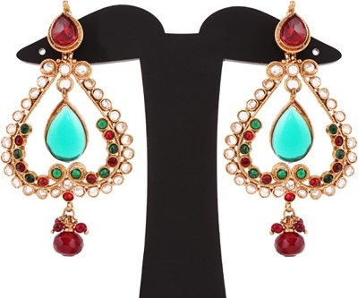 Sardarji Bentex Walley Brass, Copper Drop Earring