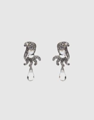 Oars Alloy, Acrylic Drop Earring