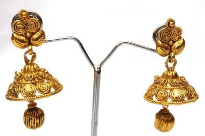 Womaniya spiral look beauty Alloy Jhumki Earring