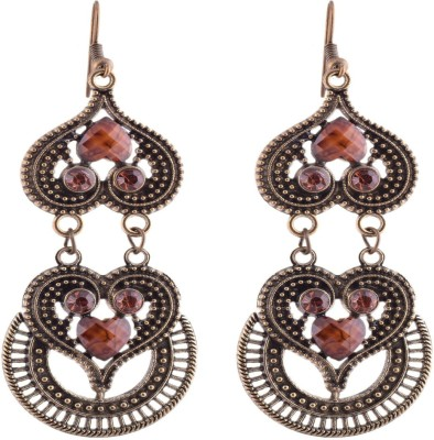 Ganapathy Gems 2404 Metal, Alloy Dangle Earring