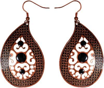 Kenway Retail Love Of Fall Brass Dangle Earring