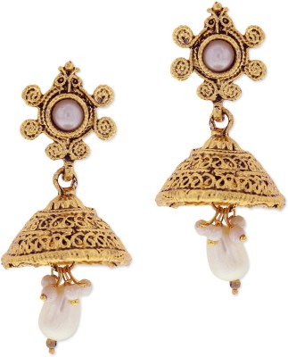 Sia Art Jewellery Floral Dangal Earring Alloy Jhumki Earring