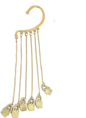 Ammvi Lock Drop Alloy Cuff Earring