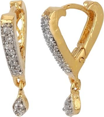 Jewels Galaxy Heart Sensation Alloy Hoop Earring