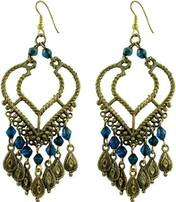 Suvini Color Spark Alloy Chandelier Earring
