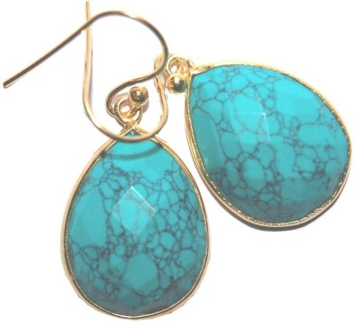Arvino Patina Turquoise Sterling Silver Dangle Earring