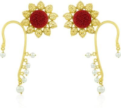 BoBell God Krishna Indian Copper Cuff Earring