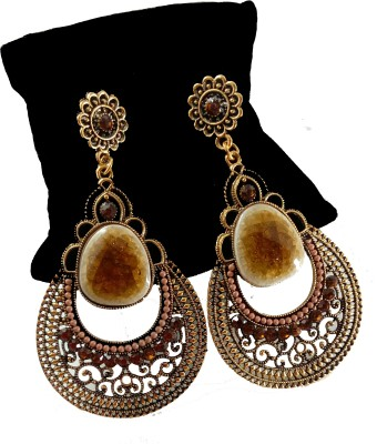 Gennext GNT-BROWN Alloy Dangle Earring