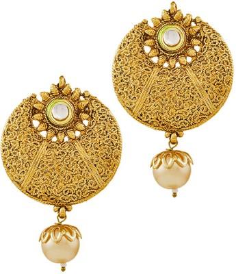 REEVA FASHION JEWELLERY EARRINGS Zinc Chandbali Earring