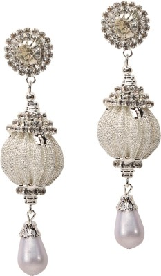 Medallion Collection Hangings Brass, Copper Drop Earring