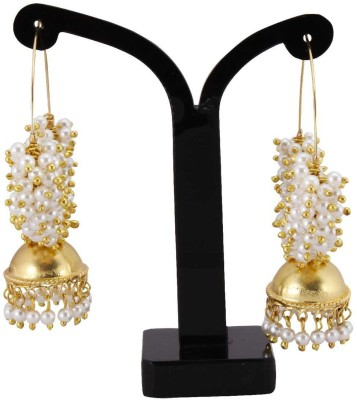 ChicKraft Inspired by Classical Indian Design Alloy, Metal Chandbali Earring