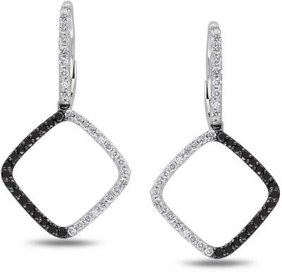 JDX Mariya Zircon Silver Drop Earring