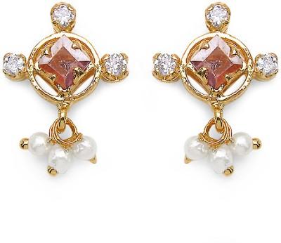 Johareez Brass Drop Earring