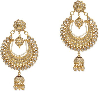 BGS Style Diva Crystal Alloy Drop Earring