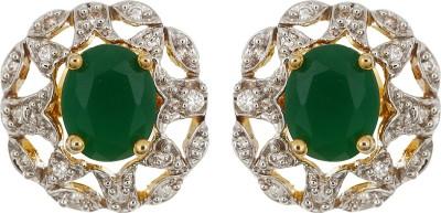 Amroha Crafts Changeable Stones Stud Alloy Drop Earring