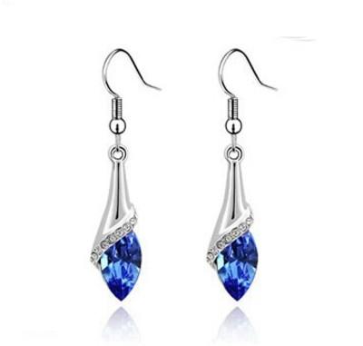 University Trendz Univ_E073 Crystal Alloy Dangle Earring