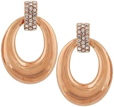 Maayra Gorgeous Designer Crystal Alloy Drop Earring