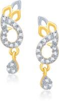 VK Jewels Fancy Cubic Zirconia Alloy Drop Earring