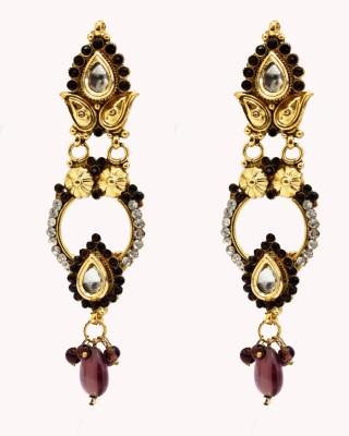 yash creations EAR07 Brass Drop Earring