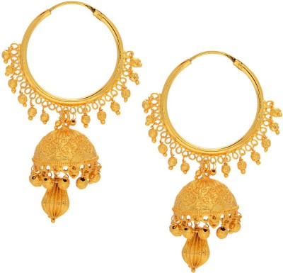 Gehnamart Ethnic Alloy Chandbali Earring