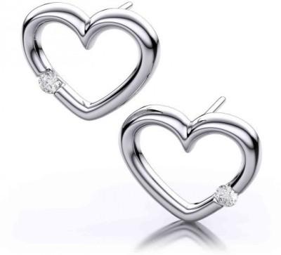 JDX Forever Silver Stud Earring
