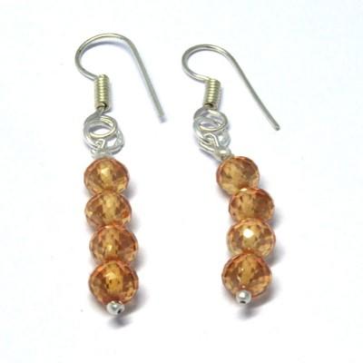 Chouhangems Trendy Drops Fashion Glass Drop Earring
