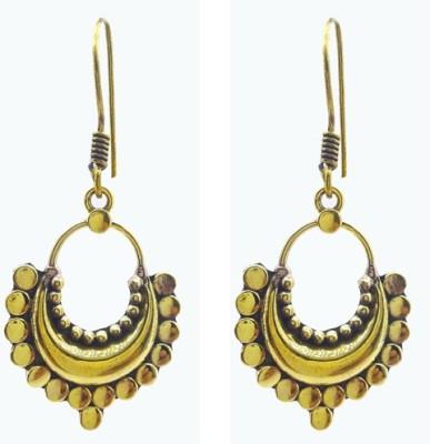 Gurjari MOONGOLD Brass Dangle Earring