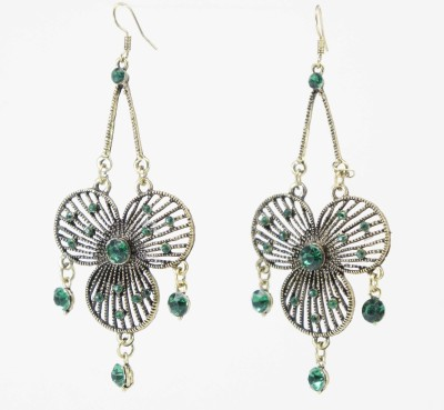 TATWAA THE ELEMENTS FUSION SPARK Alloy Chandelier Earring