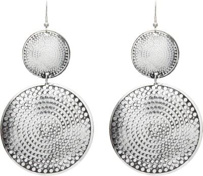 Galz4ever Silver Designer Alloy Drop Earring