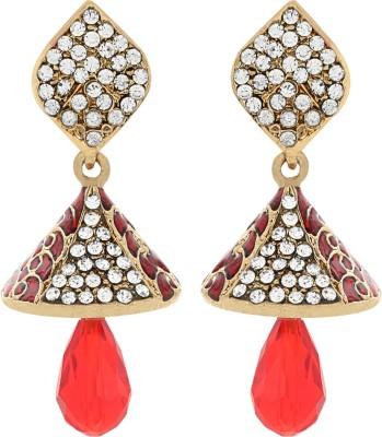 Aadyaa Collections Designer Alloy Drop Earring