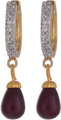 Chandrika Pearls Beautiful Cubic Zirconia Alloy Drop Earring