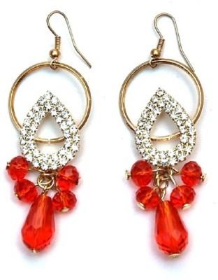 Jodhpuriyas BRIGHT SPARKLING FASHIONABLE LOVELY DROAP LATKAN EARING Alloy Dangle Earring