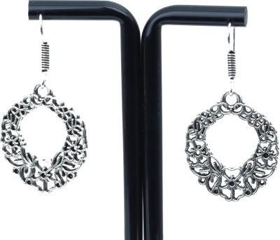 Waama Jewels handcrafted lovely silver Metal Chandbali Earring