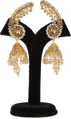 Aanya Aanya Golden Copper Jhumki Earring