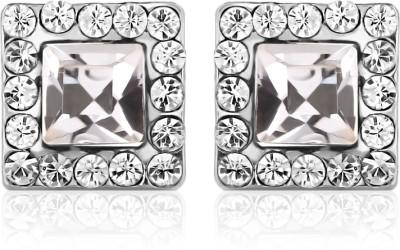 Ouxi Swarovski Elements Classic Diamond Crystal Zinc Stud Earring