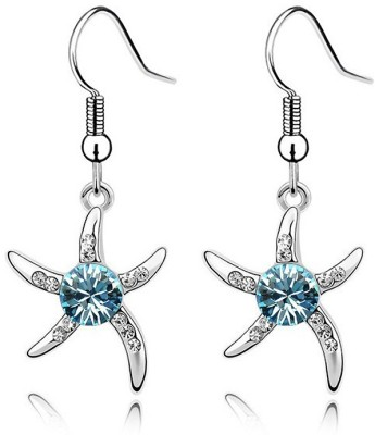 Womanwa Starry Glam Magic Metal Dangle Earring
