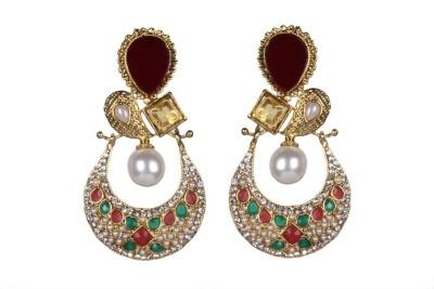 Tatva R1656 Alloy Chandbali Earring