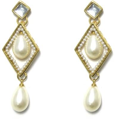 Fashion Pitaraa Pearl Delight Copper Drop Earring