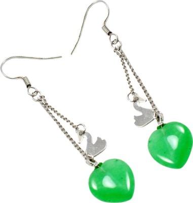 Silvesto India 728 Stone Dangle Earring