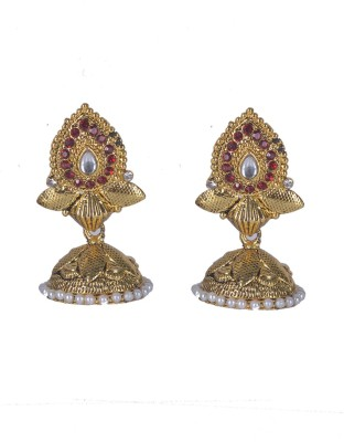 Aakhya JHM7 Alloy Jhumki Earring