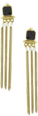 the jewelbox Gothic Designer Brass Tassel Earring