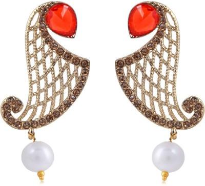 Jewels and Deals FE-010 Brass Drop Earring