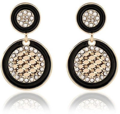 Kyra SPARKLING ROUND Alloy Drop Earring
